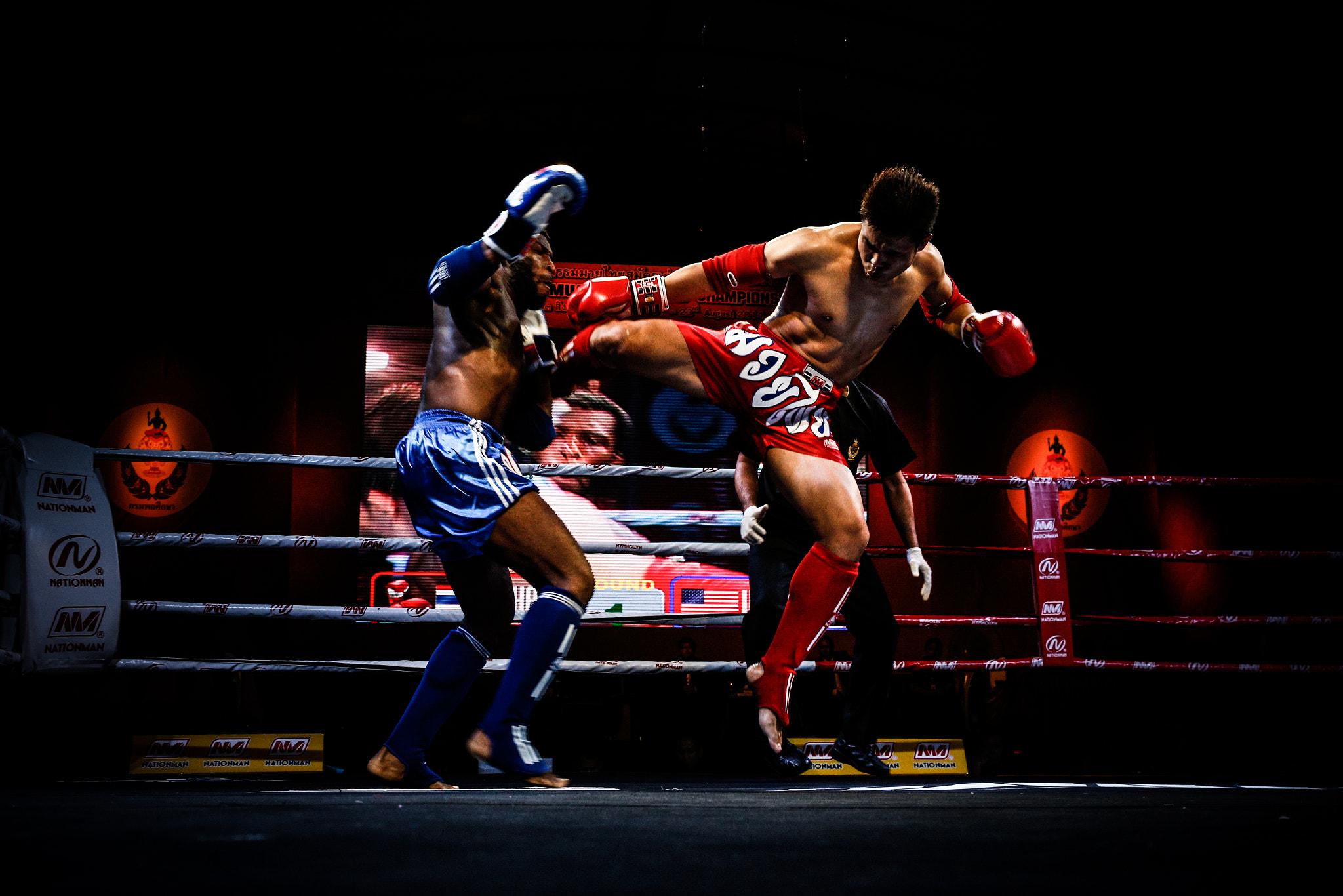 Muay Thai Fight: US vs. Burma